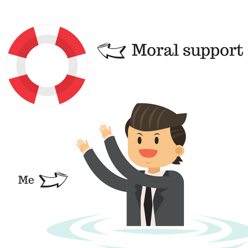 Moral Support