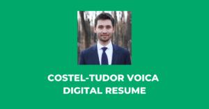 COSTEL-TUDOR VOICA DIGITAL RESUME LinkedIn